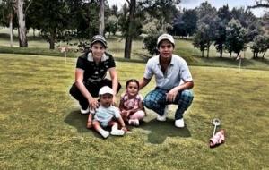La familia del Subsecretario  Luis Miranda Nava